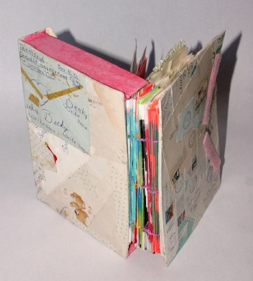 Handle with Care. Handmade coptic stitch binding. 2006.